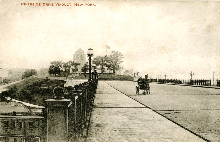 Postcard Viaduct and Grants Tomb