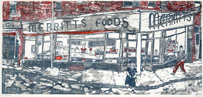 side-Merritts-Foods-painting