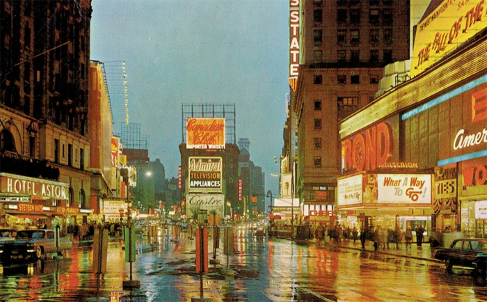 Side-Times Square 1964
