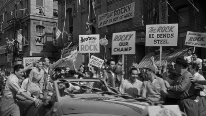 rocky parade