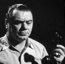 Ernest Borgnine, sad after being rejected on the phone. (Photo by Allan Grant/The LIFE Picture Collection via Getty Images)