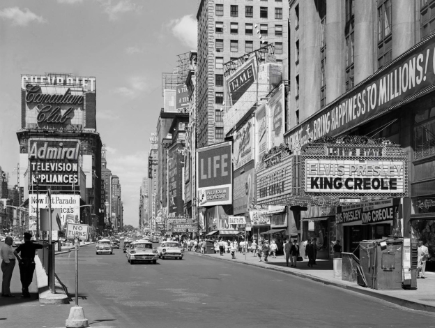 1958 view-north-up-7th-ave-at-45th-st-king-creole-starring-FPW2J7 copy