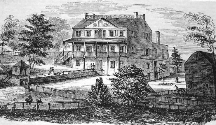 beekman house 1884 etching